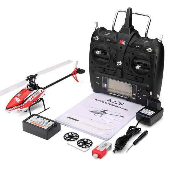 LeadingStar XK K120 челнок 6CH бесщеточный 3D 6G Системы Радиоуправляемый вертолет RTF/с управлением от первого лица