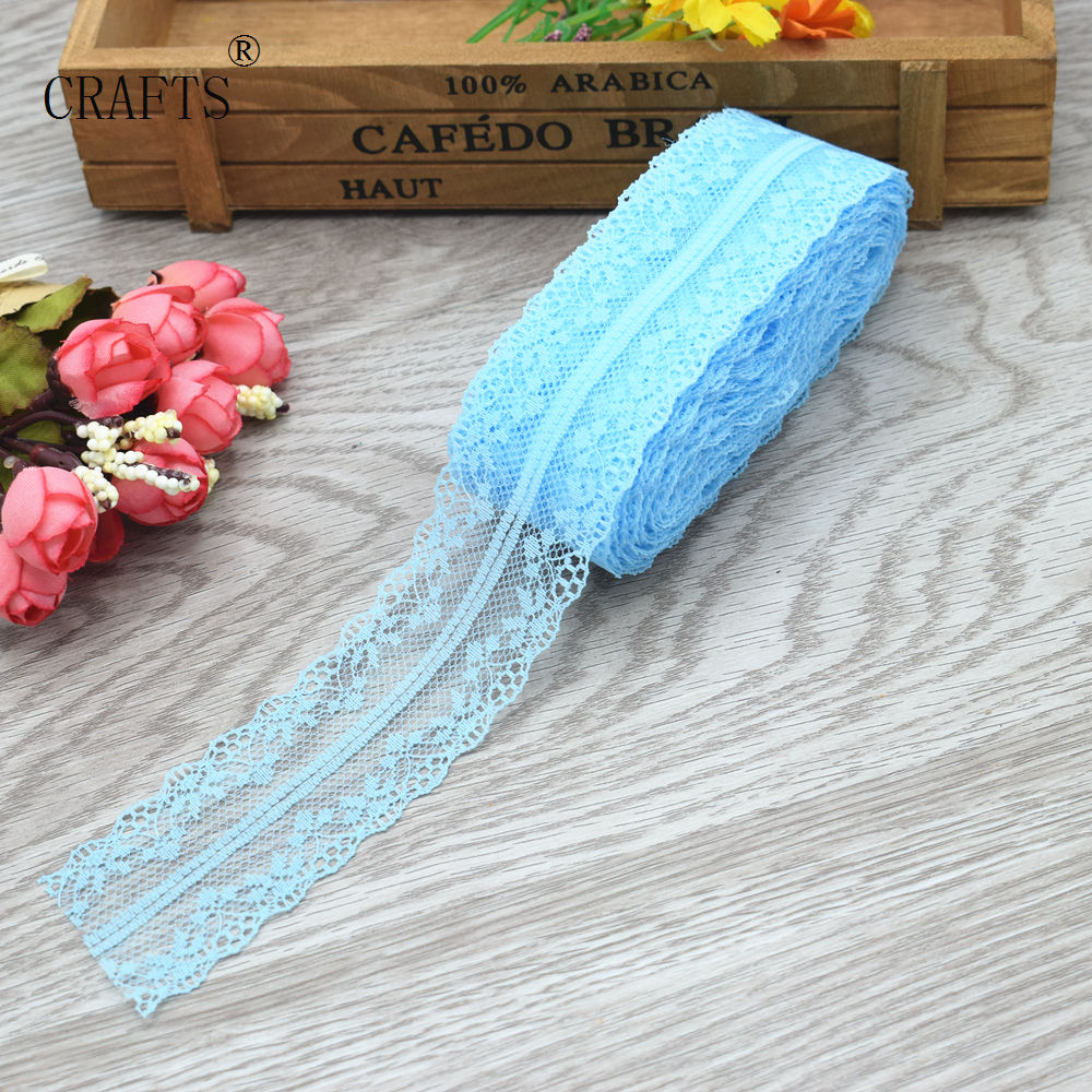 HTB1cqCqiQ9WBuNjSspeq6yz5VXaI New! 10 yards beautiful lace ribbon, 3.8 cm wide, DIY decoration accessories, holiday decorations