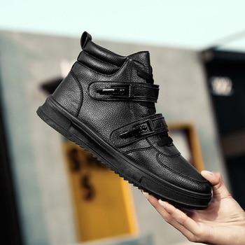 Flats Autumn PU Leather Sneaker 3