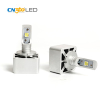 CN360 2PCS 2016 Latest LED D1 D3S Car LED Headlight Lamp 12000LM 6000K 35W High Power XHP70 Chip For Projector Lens