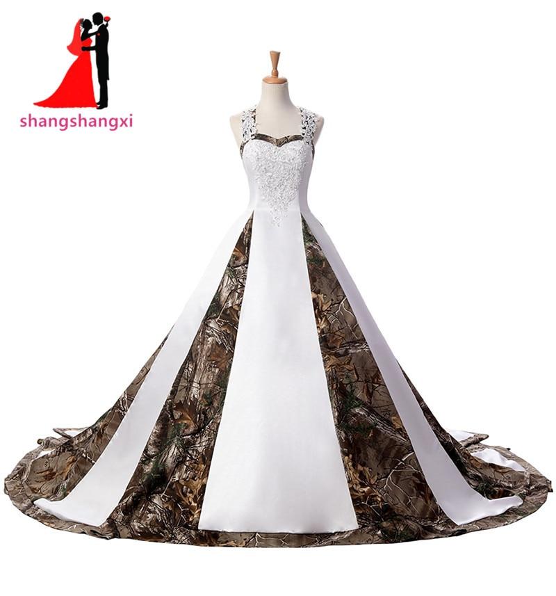 Excepcional Vestidos De Novia De Camuflaje Blanco Ideas Ornamento ...