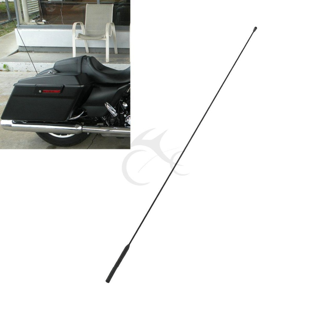AM FM Antenna For Harley Touring Road Glide 1998 2013 Electra Glide 1986 2013 in Levers Ropes Cables from Automobiles Motorcycles
