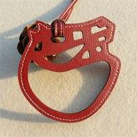 Nổi tiếng Thiết Kế Thời Trang Động Vật Da Bò Ngựa Da Keychain Chính Hãng Phụ Nữ Túi Designer Charm Luxury Túi Phụ Kiện Mặt Dây Chuyền