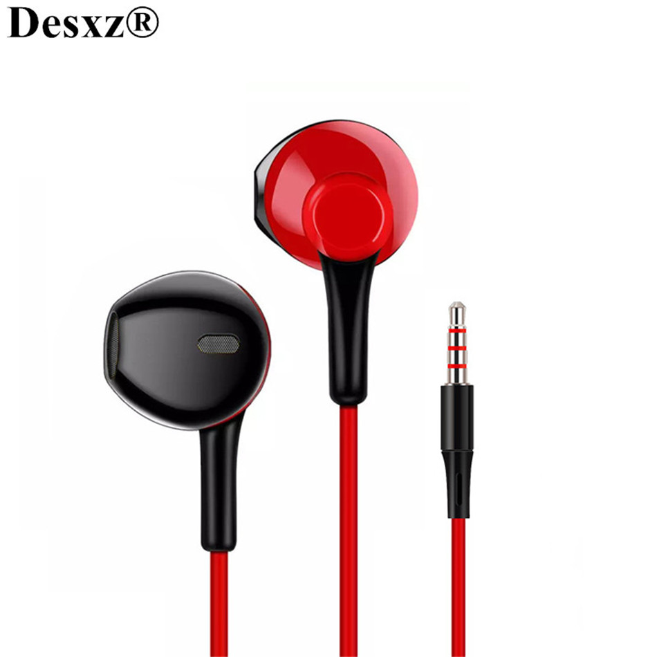 Desxz D3 Earphones Noise Canceling Headset Stereo Earbuds with Mic for Mobile phone Xiaomi PC audifonos fone de ouvido