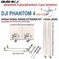 DJI Phantom 4 pro Antenne Kit 2.4G 5.8G Antenne Range Extender kit voor DJI Phantom 4 PRO +  4 PRO/ADV  3 PRO/ADV Inspire 2 drone-in Antennen van Consumentenelektronica op