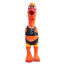 New Design Pet Dog Cat Toys Chew Rubber Chicken Sound Toys For Dog Pet Mascotas Perros Honden Speelgoed Hund Cani Chien 23cm