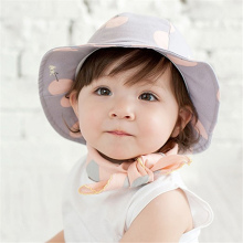 Kawaii font b Baby b font Sun Hat Kids Children Girls Summer Outdoor Cotton Cap Printed