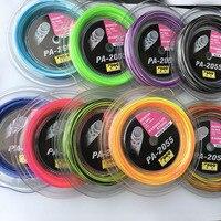 1 Reel 200M Topo PA 2055 Rainbow Badminton Racket Strings Big Reel 0 7MM Badminton Strings