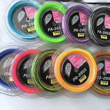 1 Reel 200M Topo PA-2055 Rainbow badminton racket strings big reel 0.7MM Badminton strings Colorful
