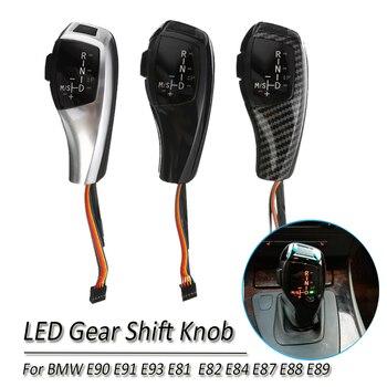 Automatic Car LED Gear Shift Knob AT Stick Shift Lever LHD Gear Shift Knob for BMW E90 E91 E93 E81 E82 E84 E87 E88 E89 фото