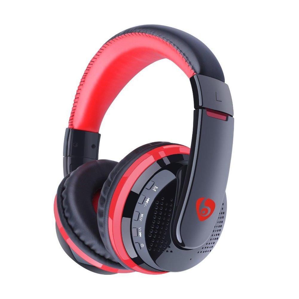 Noise Cancelling Bluetooth Headphones with Microphone Hi-Fi Wireless Headphones Over Ear for Travel Work TV Computer Iphone