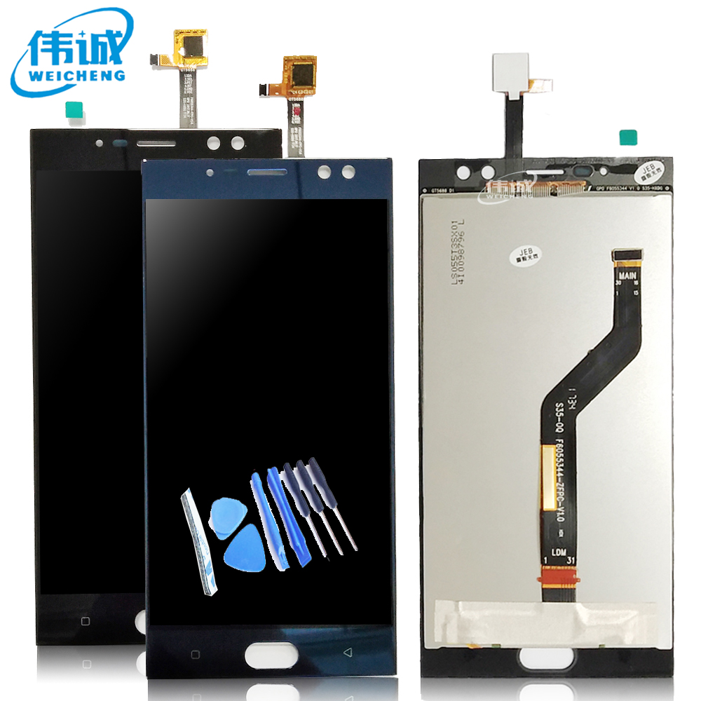 WEICHENG Tested Well For 5.5 Inches Oukitel K3 LCD Replacement Digitizer Touch Screen + Lcd Display Assembly + Free Tools