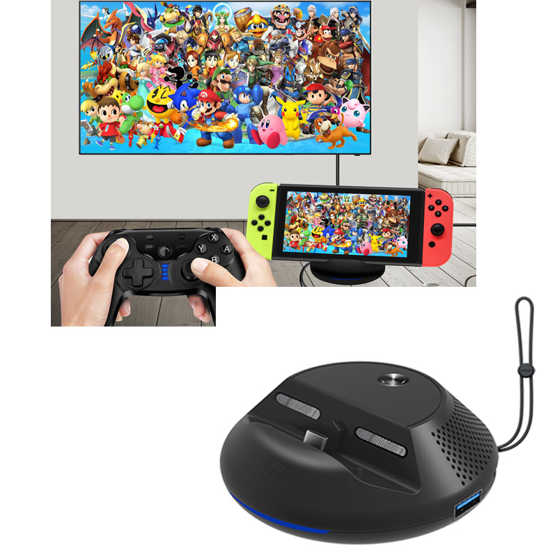 Portable TV Converter Charging Dock for Nintend Switch Nintendos Switch Console Cooling Stand Type-C HDMI PCB Board IC Solution nintend switch joy con