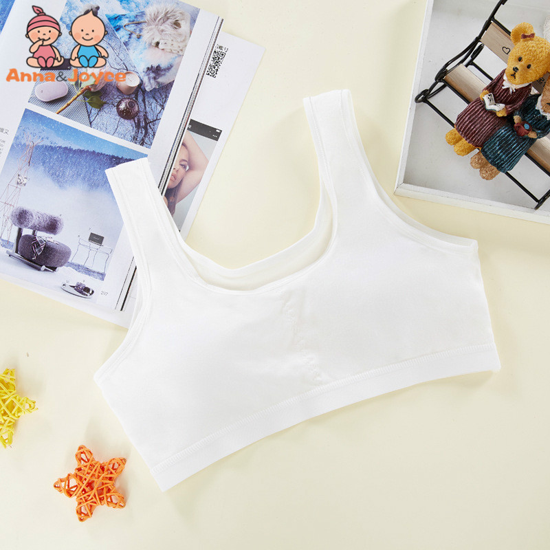 Underwear Vest Girl Cotton New Solid HTST509 Bra-Development Rim Period Thin Section