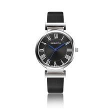New Rebirth Fashion Casual quartz bracelet ladies wristwatches leather strap analog watch women clock zegarek damski anniversary