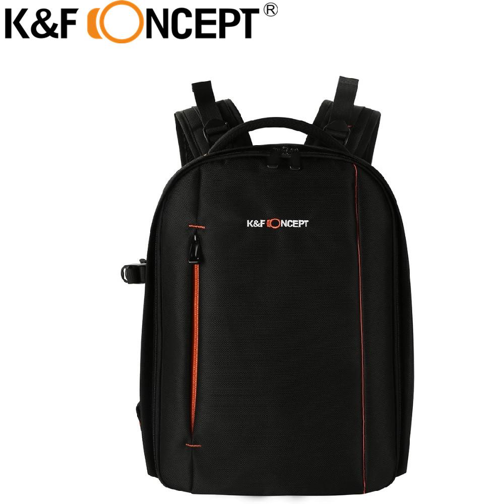 Prix pour K & F CONCEPT Caméra Sac À Dos Multi-fonctionnelle D'affaires REFLEX Sac Grande capacité avec 8 Amovible Diviseurs Pour Canon/Sony/Nikon