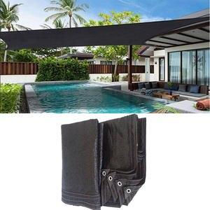 Sunshade Net Patio-Cover Sunblock Sail SUN-SHELTER HDPE Garden Black Outdoor Anti-Uv