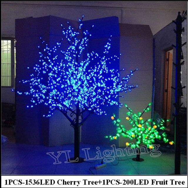 2 meter led kersenboom 08 meter 200led fruit boom indoor kerstvakantie decoratieve bloesem boom europa