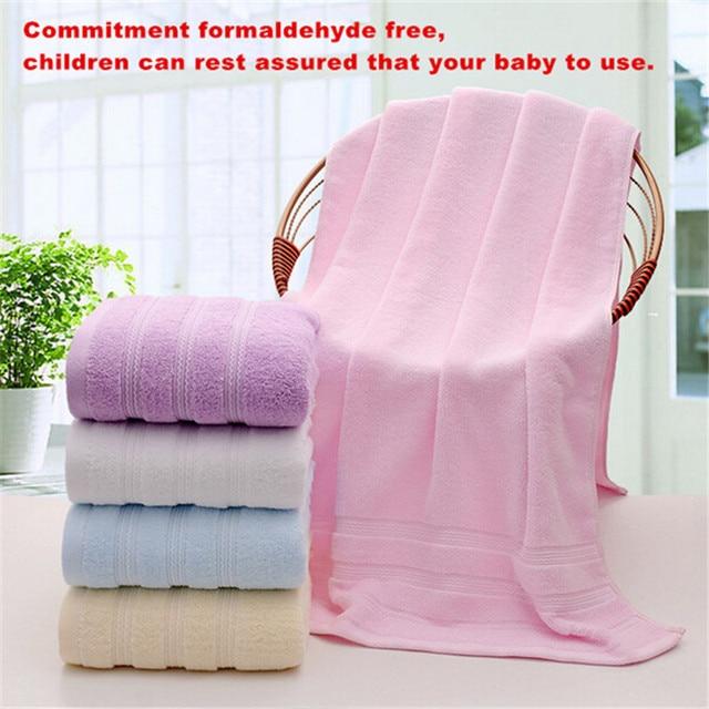 Free Shipping 100 Cotton Towel Serviette De Plage Oversize Bath Bathroom Beach Towels For S 70cmx140cm