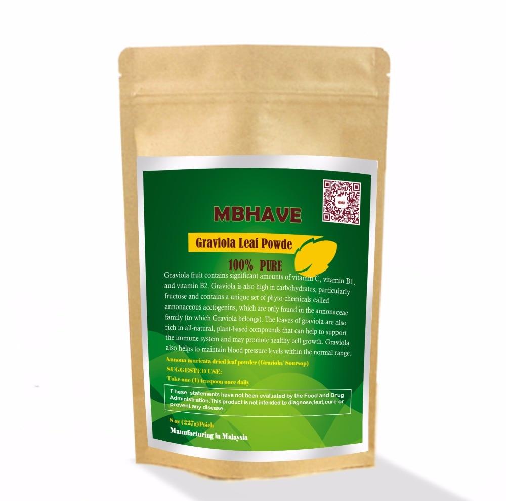 Graviola Leaf Powder 6 oz   Annona muricata - Premium Quality 100% PureGraviola Leaf Powder 6 oz   Annona muricata - Premium Quality 100% Pure