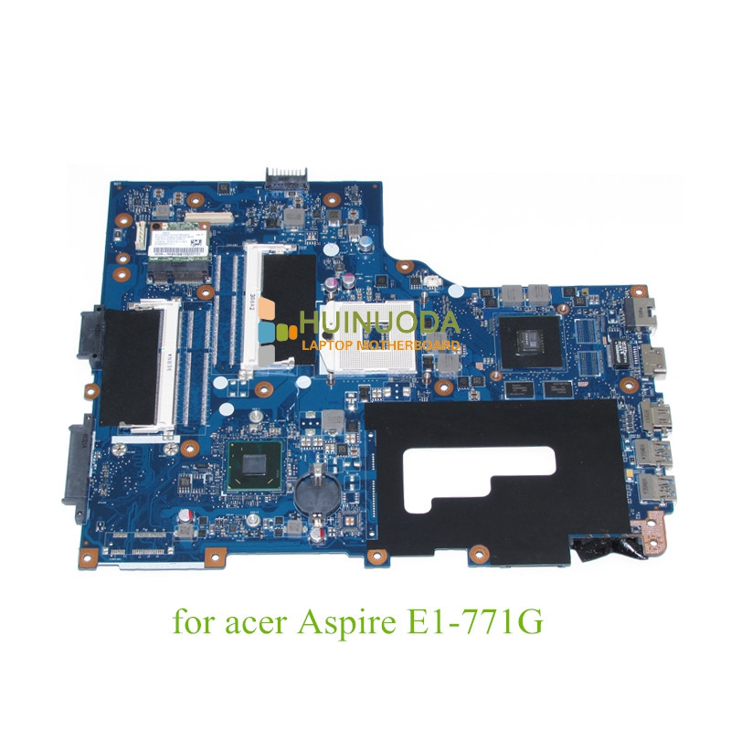 NBMG511001 NB.MG511.001 Laptop motherboard For acer aspire E1-771G V3-771G GeForce Mainboard