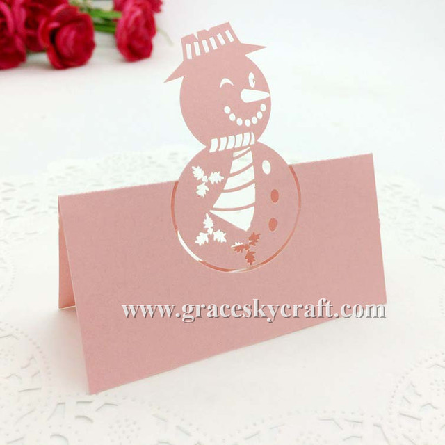 50 free shipping laser cut paper birthday christmas day party