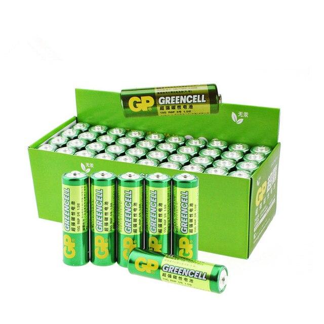 20 шт. оптовая продажа GP greencell AA Батарея 1.5 В 3500 мАч 15 г R6P Батареи Бесплатная доставка