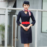 Flight stewardess uniform sexy stewardess costume DD1308