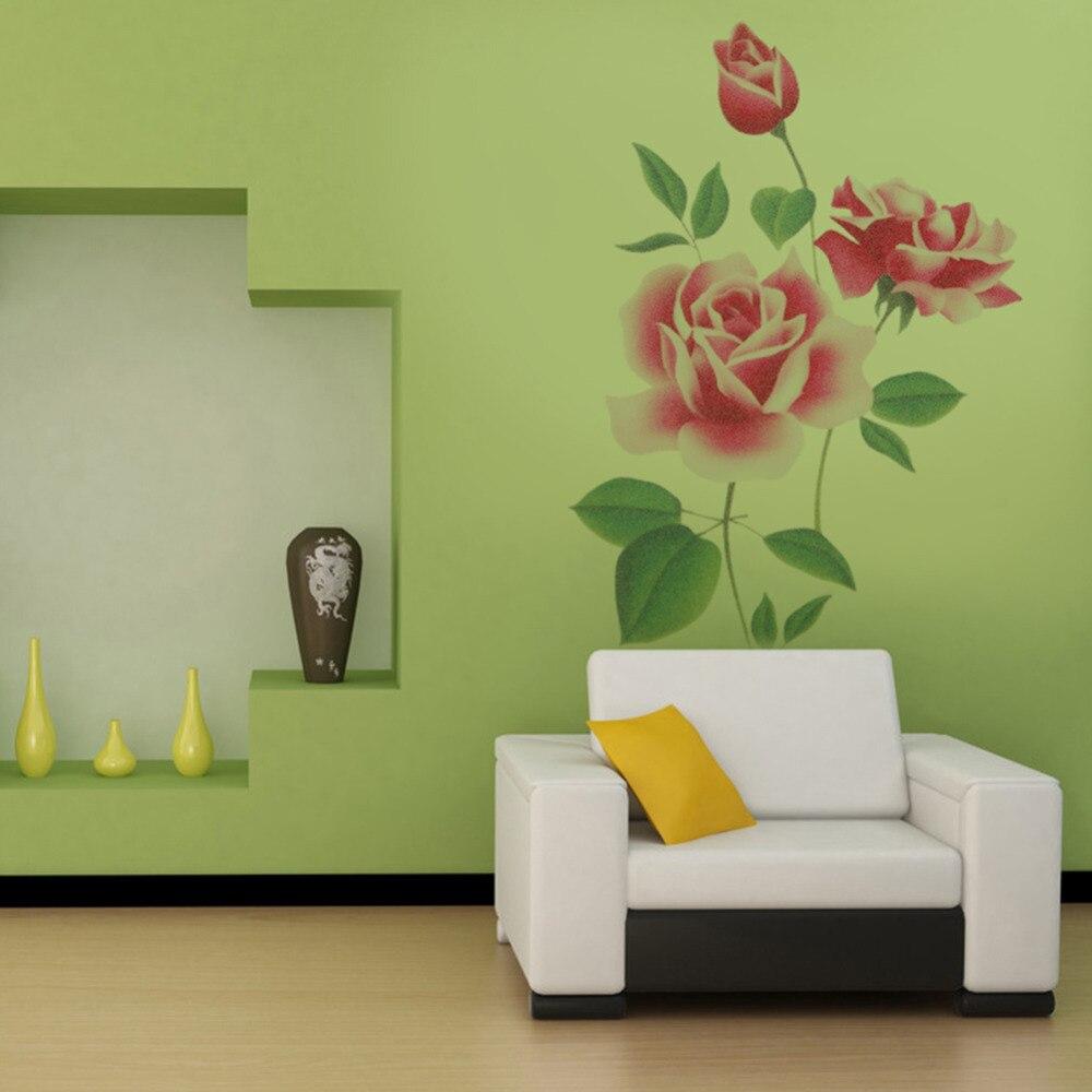 Lukisan Bunga Di Dinding Rumah Sabalukisan