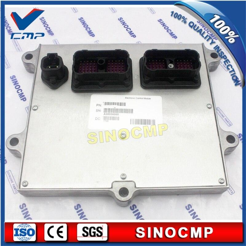 ECU PC220-8 PC240-8 6D107 Injection De Carburant Du Moteur Contrôleur 600-467-1200 pour Komatsu Pelle, 1 An de garantie