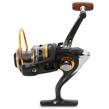 DK1000 – 5000 Spinning Fishing Reel 11BBs 5.2 : 1 Aluminium Foldable  Fishing Reel Gray Exchangable Handle Side Fishing Reel