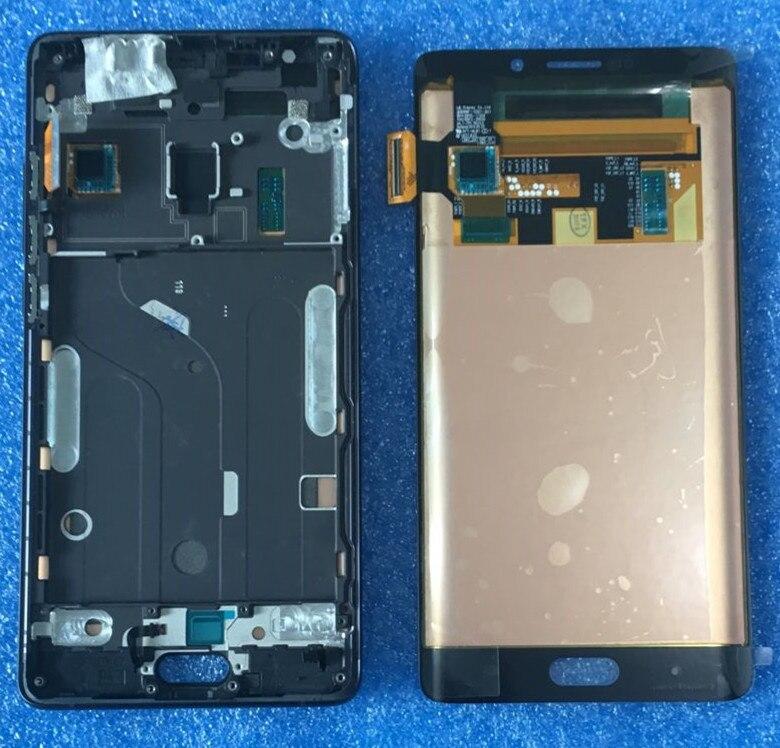 D'origine Pour 5.7 xiaomi note 2 mi note 2 Axisinternational LCD écran D'affichage avec cadre + Écran Tactile Digitizer pour xiaomi note2