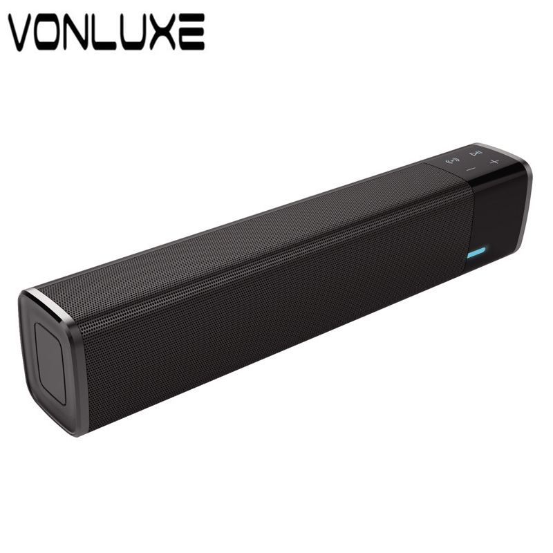 Big Power 20w Portable Wireless Bluetooth Speaker Soundbar Super Bass Stereo Loudspeaker with Touch NFC Speakers for Phone TV solo one wireless bluetooth speaker vogue wooden nfc stereo super bass desktop speaker touch button for ios smartphone tablet pc
