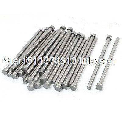 25 PCS 8mm Tip 5mm Shank 100mm Length Straight Ejector Pins Punching Mold россия шк в ярославле 25 5