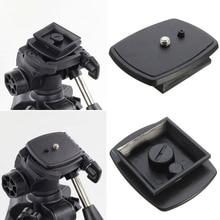 Quick Release Tripod Monopod Head Screw Adapter Mount For VCT D680RM D580RM R640 Velbon PH 249Q Pan Head