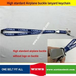 Image 4 - keyring Airbus Boeing aircraft airplane buckle Lanyard Pilot Crews ID Card Holder snap clasp clip Spring Gate ring sling string