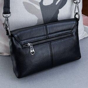 Image 2 - Skórzane torebki Crossbody dla kobiet torebki damskie na ramię nowe modne torebki damskie torebka ze skóry bydlęcej duże torba z rączkami