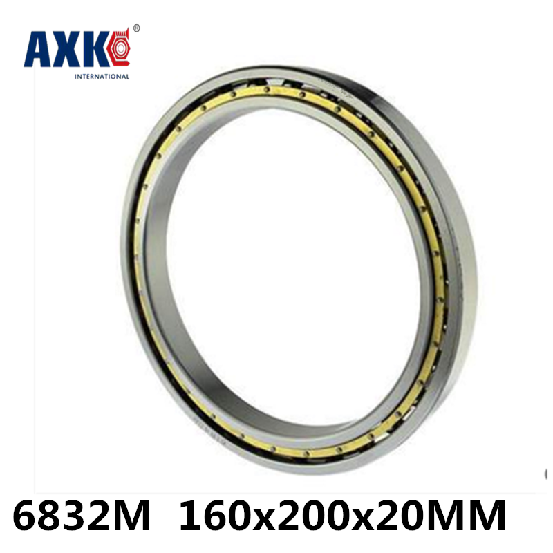 2018 New New Arrival Steel Ball Bearing Rodamientos 6832m Abec-1 160x200x20mm Metric Thin Section Bearings 61832m Cage 2018 hot sale time limited steel rolamentos 6821 2rs abec 1 105x130x13mm metric thin section bearings 61821 rs 6821rs