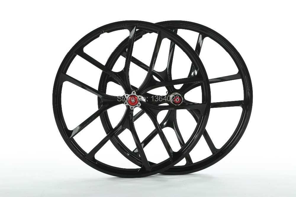 2pcs Mtb Hot Lightweight Magnesium Alloy Wheels 26 27 5 Inches
