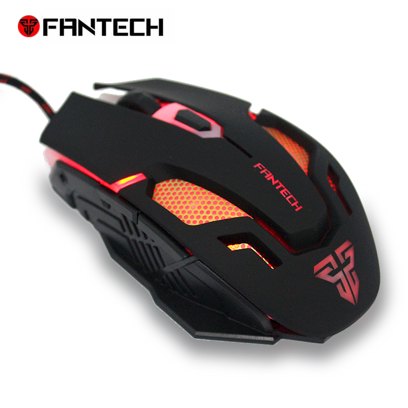 FANTECH V2 Original Computer Wired Mouse USB Optical Gaming Mouse Mice Cable 6 Buttons For PC Laptop Mouse Gamer
