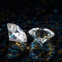 DovEggs 1 шт Диаметр 8,5 мм F цвет Муассанит без огранки каменные сердца и стрелки разрезанный Муассанит алмаз для изготовления ювелирных изделий