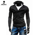 Brand Sweatshirt Men Hoodies Fashion Solid Collar Hoodie Men'S Zipper Cardigan Mens Tracksuits Moleton Masculino Tracksuit  DWQA