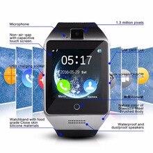 ข้อมือแฟชั่นกันน้ำหุ่นยนต์NFCสมาร์ทนาฬิกาสนับสนุนWhatsappและFaceBook/ซิม/บัตรTF/กล้อง