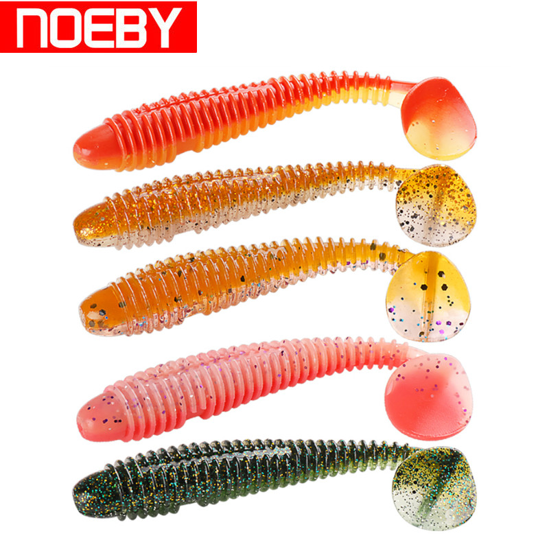 NOEBY Fishing Lures 70mm/95mm 2.5g/8.5g Soft Bait Iscas Artificial Pesca Slience Bait Peche Leurre Souple Shad For Fishing noeby nbl9062 fishing lures 66g 140mm pencil sinking leurre peche mer brochet hard fishing bait