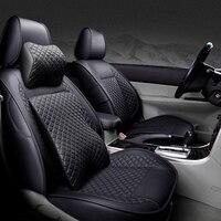 XWSN Чехлы для автомобильных сидений для Аксессуары для ключей зажигания mercedes benz w124 w202 w203 w211w212 w205 изготовленный на заказ автокресло покрывало