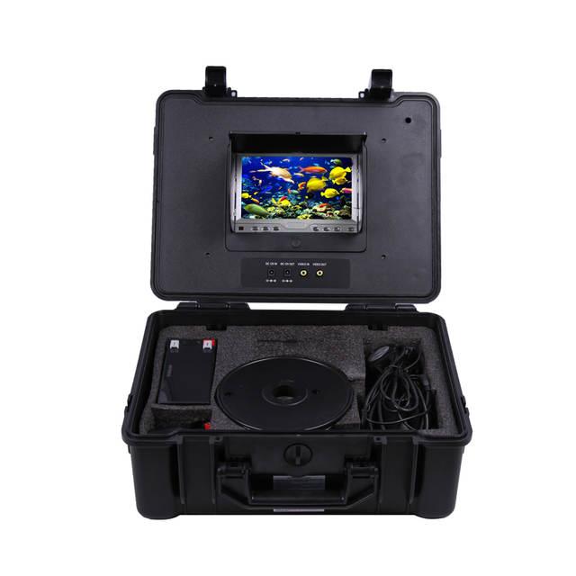 100M Underwater submarine camera 360 degree camera underwater video fish  camera cctv underwater camera CR110-7C with 7