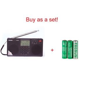 Image 5 - Tecsun PL 398MP נייד רדיו 2.2 מלא להקת דיגיטלי כוונון סטריאו FM/AM/SW רדיו מקלט MP3 נגן אינטרנט Fm רדיו
