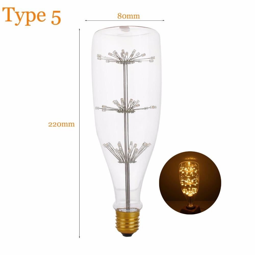 Lâmpadas Led e Tubos antigo edison vintage luz lâmpada Temperatura de Cor : 2700k