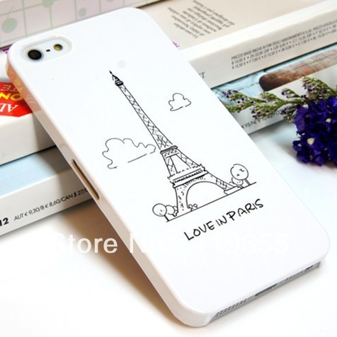 New Cartoon  protective shell cover case for iPhone4 4s Bohemian national wind trend sleeve Free shipping