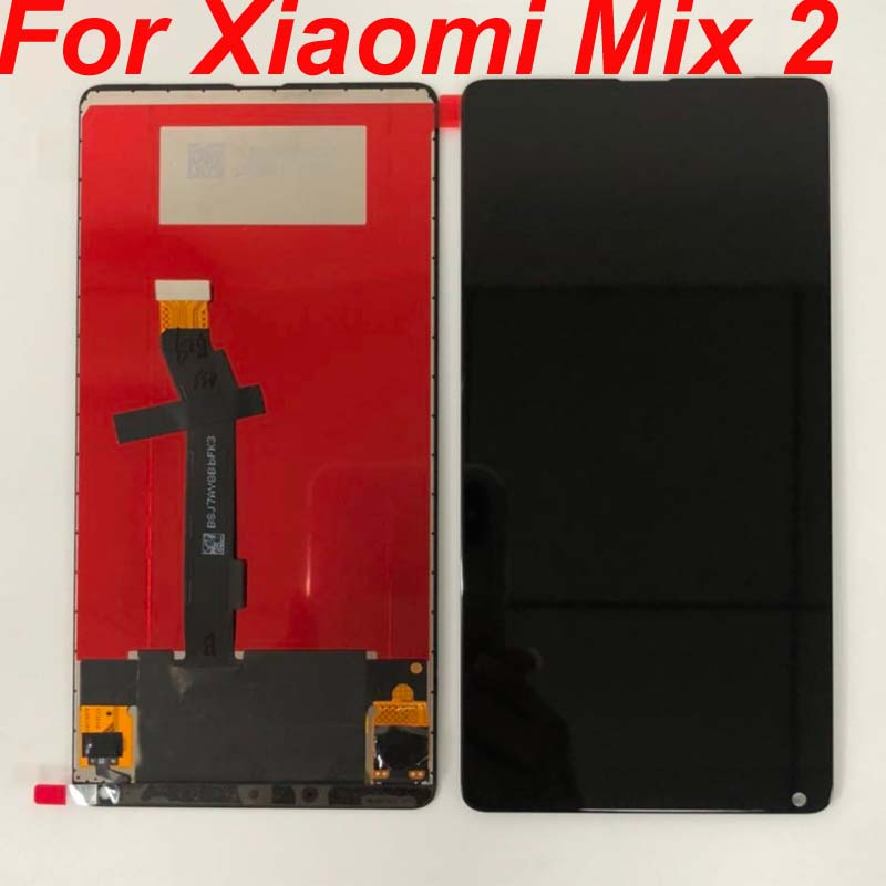 Original For Xiaomi Mi Mix2 LCD Display 10 Touch Screen Panel XAIOMI Mix 2 LCD Digitizer